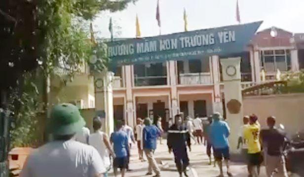 Hà Nội: Chập điện gây cháy trường mầm non-2