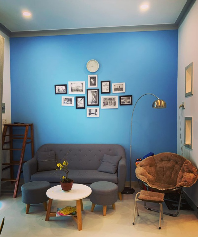 Mãn nhãn với ngôi nhà màu xanh nằm trên đảo Phú Quốc-4