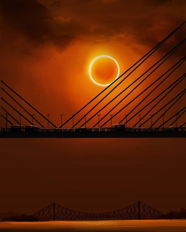 Hình ảnh nhật thực tuyệt đẹp từ khắp nơi trên thế giới-8