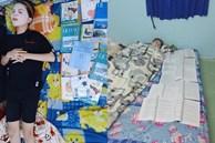 Muôn kiểu ôn thi bá đạo: Tài liệu chất đống, cứ phải sách một bên người một bên mới yên tâm đi ngủ