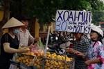 Xoài mini Trung Quốc về ngập chợ, dân buôn bán cả tạ mỗi ngày-5