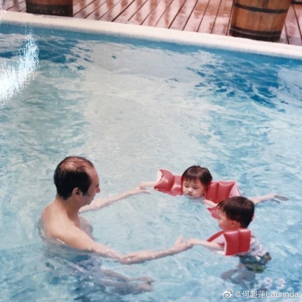 Gia tộc Vua sòng bài Macau trong Ngày của Cha: Hầu hết đều im lặng, chỉ có 2 tiểu thư đăng ảnh nhớ thương người cha quá cố-2
