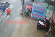 Trộm bất lực bỏ đi vì khóa xe máy quá cứng