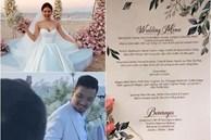 Thực đơn cưới ở biển xa hoa: Mới nhất là nữ diễn viên cưới giám đốc tập đoàn nghìn tỷ