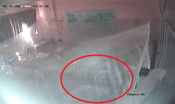 Kiểm tra camera thấy con trai bị xô ngã tới tấp, phụ huynh Hà Nội nghi cô giáo mầm non bạo hành con?-1