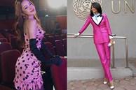 Trang phục hồng cánh sen khó nhằn được Chi Pu - H'Hen Niê 'cân' đẹp