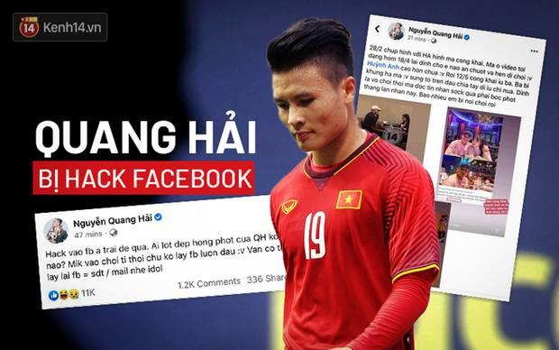 Quang Hải bị hack Facebook, lộ đoạn tin nhắn nhạy cảm về chuyện yêu đương-1