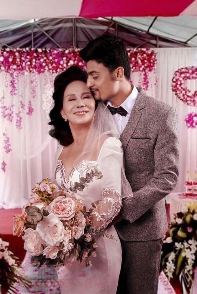 Cô dâu 65 tuổi ở Đồng Nai và chồng Tây 28 tuổi bí mật tổ chức đám cưới màu trắng?-1