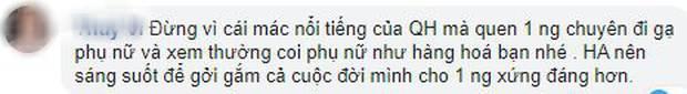 Sau scandal Quang Hải bị hack Facebook, dân mạng đồng lòng khuyên Huỳnh Anh nên có sự lựa chọn đúng đắn-5