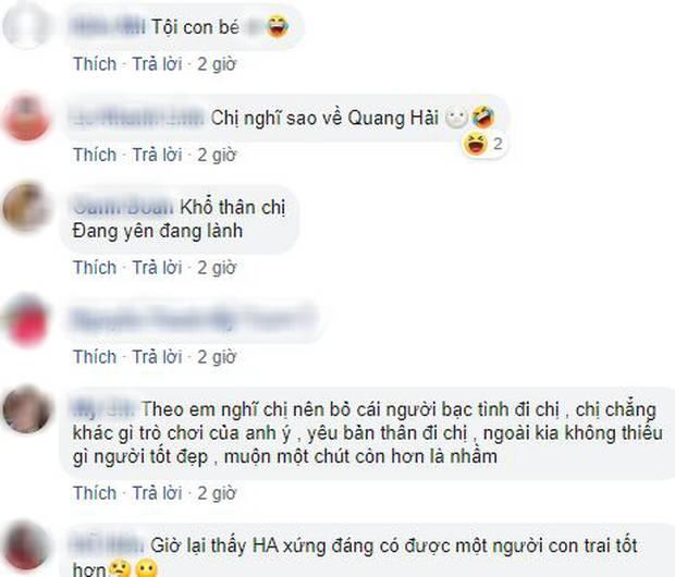Sau scandal Quang Hải bị hack Facebook, dân mạng đồng lòng khuyên Huỳnh Anh nên có sự lựa chọn đúng đắn-7