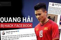 Quang Hải bị hack facebook, những cô gái liên quan trong tin nhắn riêng tư có được báo công an?