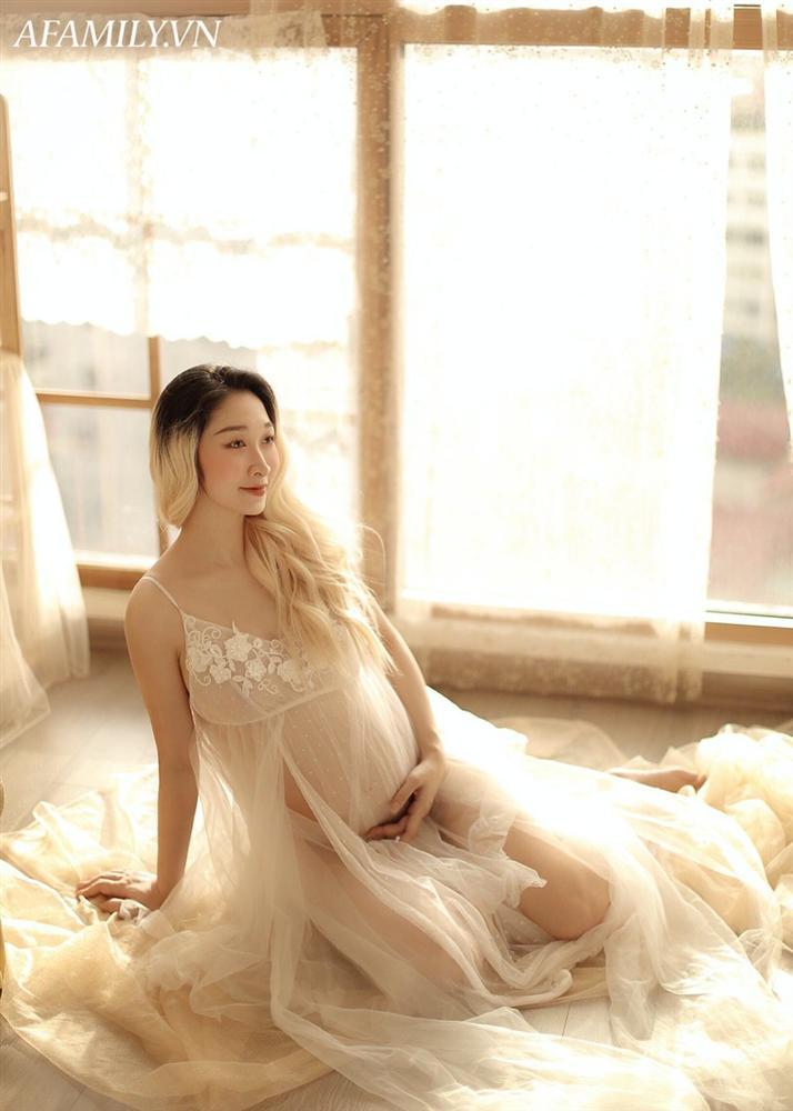 Mẹ bầu Thái Bình mang thai 7 tháng đẹp xuất sắc, thần thái ngời ngời đập tan quan niệm cứ bầu bí là ngoại hình tuột dốc-9