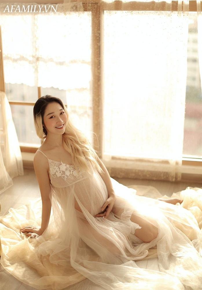 Mẹ bầu Thái Bình mang thai 7 tháng đẹp xuất sắc, thần thái ngời ngời đập tan quan niệm cứ bầu bí là ngoại hình tuột dốc-10
