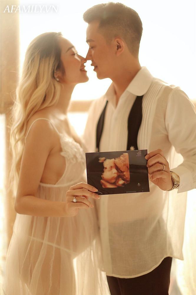 Mẹ bầu Thái Bình mang thai 7 tháng đẹp xuất sắc, thần thái ngời ngời đập tan quan niệm cứ bầu bí là ngoại hình tuột dốc-11