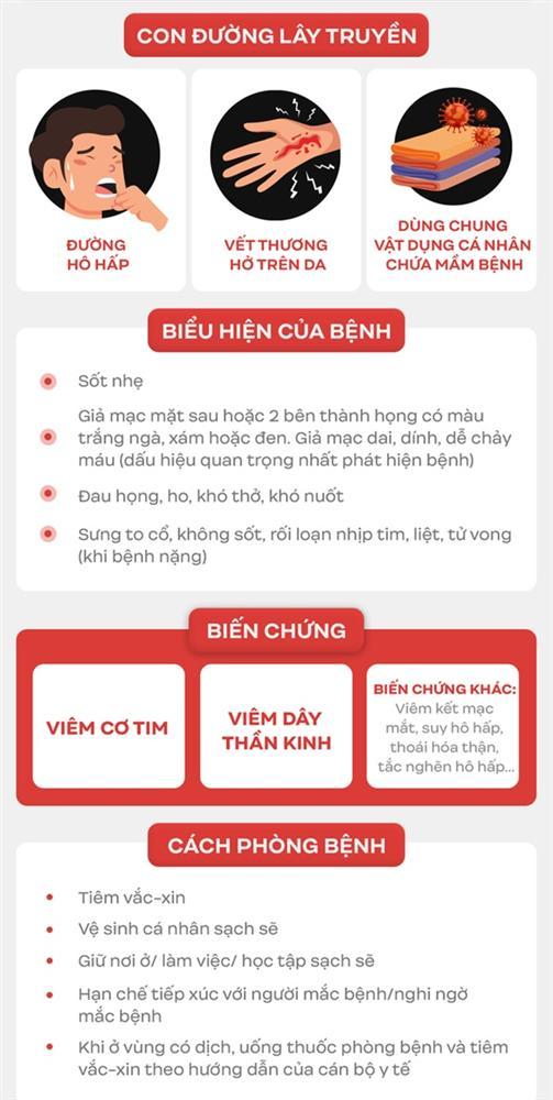 Liên tiếp xuất hiện các ổ bệnh bạch hầu tại Việt Nam: Đây là lý do bạch hầu có thể lây mạnh và vô cùng nguy hiểm cho tính mạng người bệnh-5