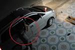 Tài xế ôtô truy đuổi, đâm gục trên trộm đi xe máy lên vỉa hè-1
