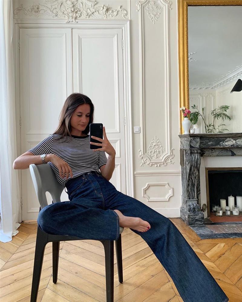 Để diện đồ công sở chuẩn xinh và thanh lịch không kém phụ nữ Pháp, chị em chỉ cần sắm 5 items-17