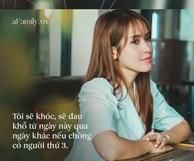 Tú Vi vừa trải lòng về tin đồn ly hôn Văn Anh, Hồ Ngọc Hà để lại bình luận gây chú ý