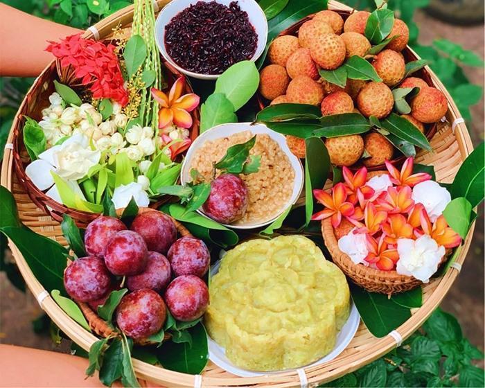 Mâm cúng và bài văn khấn Tết Đoan ngọ truyền thống Việt Nam-1