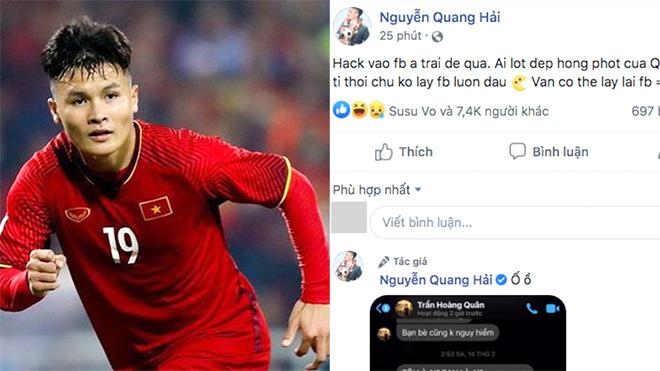 Cục an ninh mạng vào cuộc truy tìm kẻ hack Facebook cầu thủ Quang Hải rồi để lộ tin nhắn nhạy cảm-1