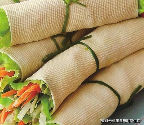 Váng đậu cuốn rau củ, món ngon giàu dưỡng chất cho những ngày chán cơm-8