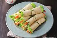 Váng đậu cuốn rau củ, món ngon giàu dưỡng chất cho những ngày chán cơm