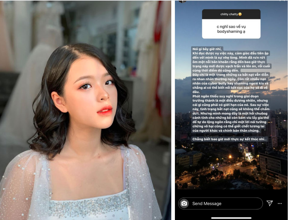 Hồng Khanh, gái út sinh năm 2004 của NSƯT Chiều Xuân nói về body-shaming trên MXH, suy nghĩ chín chắn thu hút sự chú ý-2