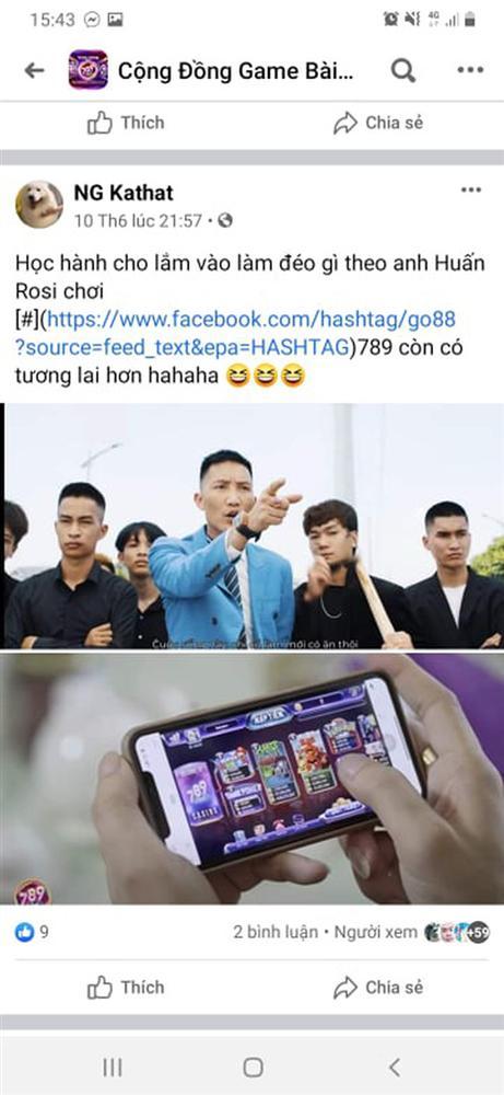 Giang hồ mạng Huấn Hoa Hồng ngang nhiên làm MV quảng cáo game đánh bạc: Có thể bị xử lý hình sự-17