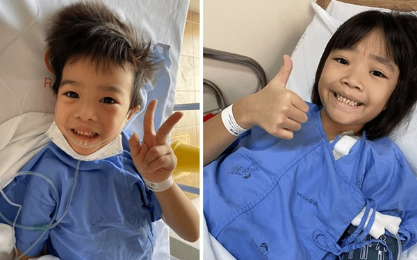 Xúc động: Cậu bé 5 tuổi mắc COVID-19 hiến tủy xương để cứu chị gái 7 tuổi, điều tuyệt vời sau đó là cô bé không lây bệnh từ em mình-1