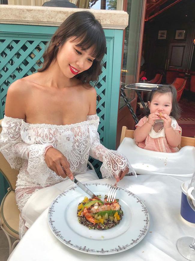 Bé Myla mới 2 tuổi đã sở hữu chiều cao của trẻ 3 tuổi, nhìn cách nuôi con của siêu mẫu Hà Anh có nhiều điều đáng học hỏi-5