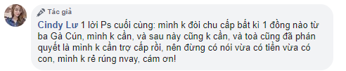 Bảo Ngọc khẳng định không nhận bất cứ 1 đồng trợ cấp nào từ Hoài Lâm: Tôi không rẻ rúng!-2