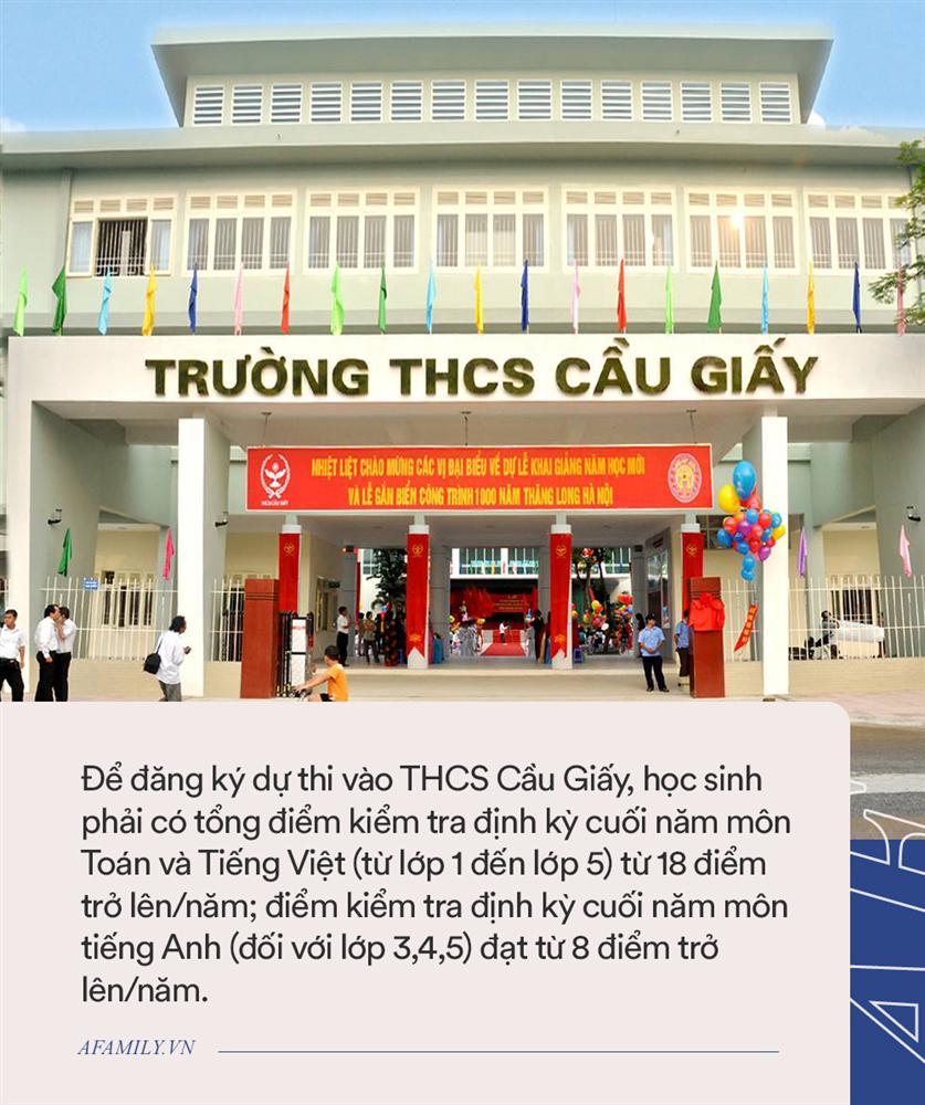 Tỉ lệ chọi các trường cấp 2 hot ở quận Thanh Xuân, Cầu Giấy và Nam Từ Liêm, học sinh cân nhắc thật kỹ trước khi nộp hồ sơ-1