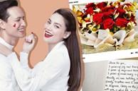 """Kim Lý viết thư tay toàn lời """"mật ngọt"""" kỷ niệm 3 năm yêu Hà Hồ, vô tình xác nhận luôn tin mang bầu?"""