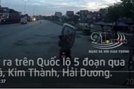 Video: Vặt trộm mặt nạ ga lăng xe container đỗ bên đường nhanh như chớp