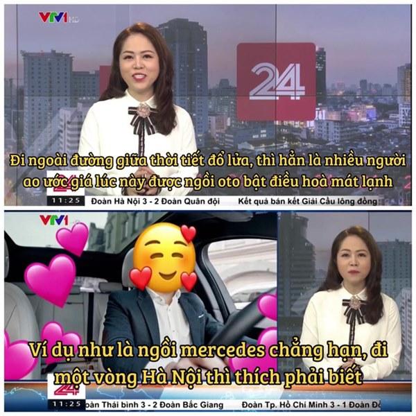 VTV vừa có màn cà khịa căng cực khi nhắc đến câu ngồi xe Mẹc đi một vòng Hà Nội từ ồn ào của Quang Hải-1