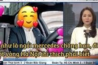 VTV vừa có màn 'cà khịa' căng cực khi nhắc đến câu 'ngồi xe Mẹc đi một vòng Hà Nội' từ ồn ào của Quang Hải