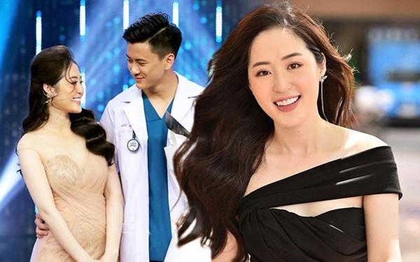 Người ấy là ai?: Nữ thần thời tiết Thanh Tâm kể về bác sĩ điển trai Quang Lâm, tiết lộ lý do không đi thi Hoa hậu-1