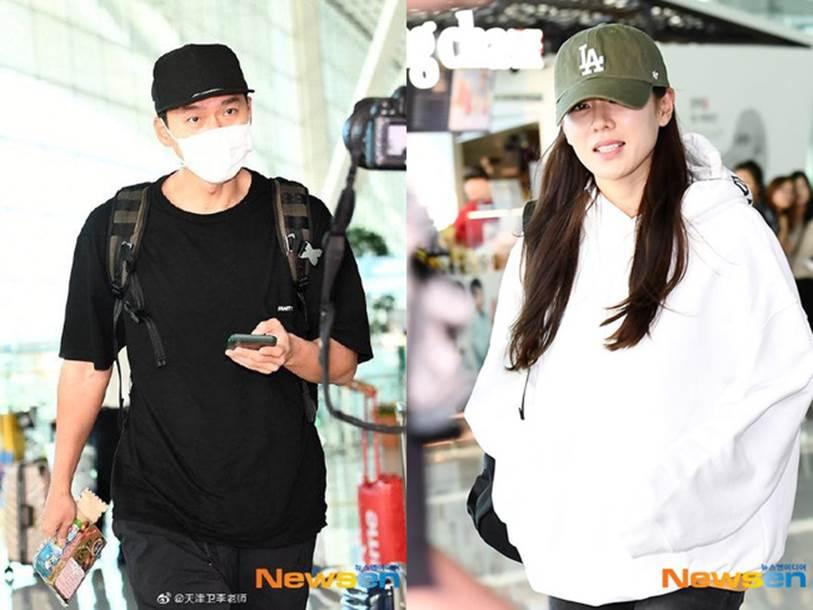 Dân tình phát sốt trước khoảnh khắc cực hiếm của Son Ye Jin và Hyun Bin trong phòng chờ máy bay-2