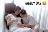 Cường Đô La âu yếm bụng bầu của bà xã, nhưng nhan sắc Đàm Thu Trang những tháng cuối thai kỳ lại gây bất ngờ