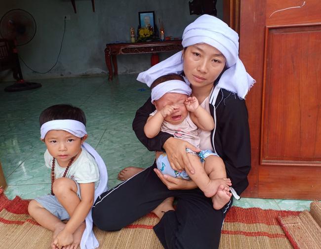 Bể khổ trần gian của người phụ nữ 3 năm 2 lần đội tang chồng con, một mình gồng gánh nợ nần, chăm con thơ bệnh tật-3