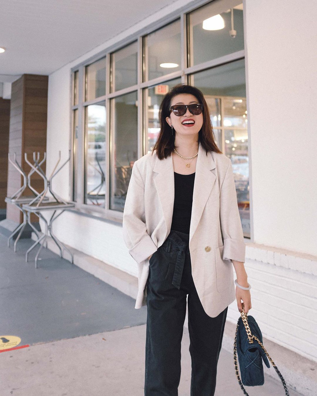 Nàng fashion blogger gợi ý 9 set màu trung tính để chị em công sở dù vụng về hay không có nhiều đồ vẫn mặc đẹp khỏi nghĩ-8