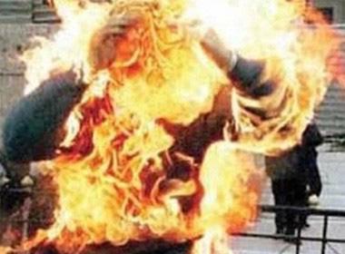 Hút thuốc cạnh can xăng gây hỏa hoạn, vợ tử vong, chồng nguy kịch-1