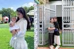 Quang Hải đưa điện thoại cho bạn gái xem, Huỳnh Anh liên tục cười rạng rỡ-10