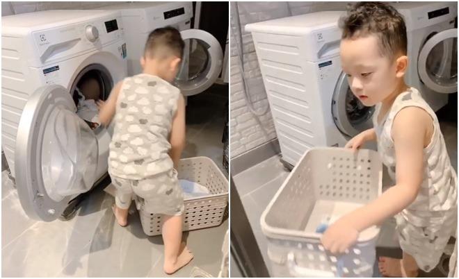 Khoe con trai biết làm việc nhà, Ly Kute tiết lộ chuyện đơn thân cũng nuôi dạy con cực khéo-1