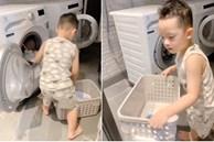 Khoe con trai biết làm việc nhà, Ly Kute tiết lộ chuyện đơn thân cũng nuôi dạy con cực khéo