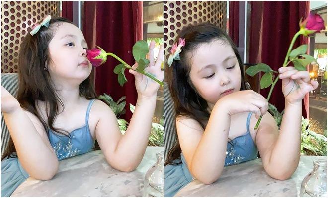 Lâu lắm Elly Trần mới khoe hình con gái, Cadie Mộc Trà giờ đã điệu như nàng thơ-5