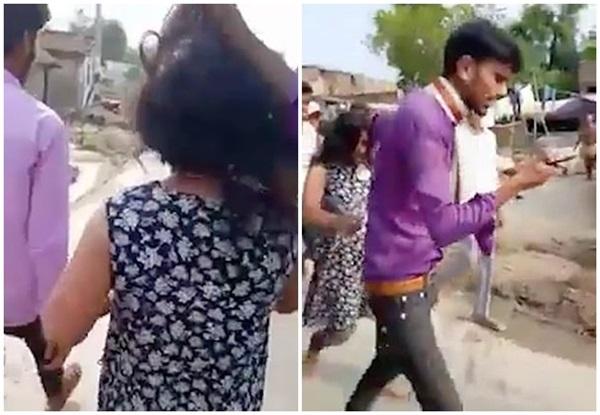 Một mình tay không đến ngăn hôn lễ của chồng với vợ hai, người phụ nữ bị đánh ngược lại, nhân chứng đứng nhìn mà không can thiệp-2