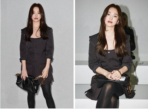 Đụng hàng chiếc túi da 75 triệu, Ngọc Trinh bất ngờ lấn át cả Song Hye Kyo: Sự an toàn quá mức khiến ngọc nữ xứ Hàn mờ nhạt toàn tập-4