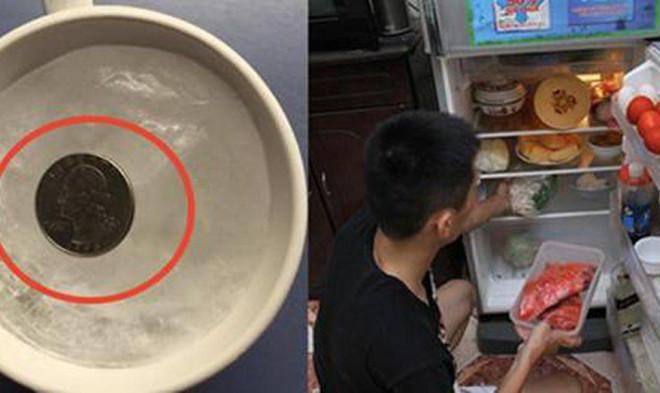 Đặt 1 đồng xu vào tủ lạnh trước khi vắng nhà vài ngày, tưởng kỳ cục nhưng khi biết lý do thì ai cũng phải học theo-1