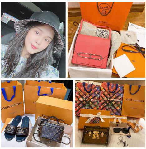 Bà bầu Quỳnh Anh khiến fan giật mình vì khuôn mặt khác lạ, còn khoe mua túi Hermes để đựng bỉm cho con-5